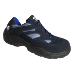 calzado de seguridad ARMOR modelo triarius corte bajo azul